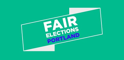 Fair Elections Portland logo